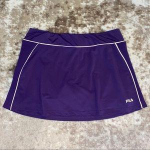 FILA Tennis Skirt, Size XL